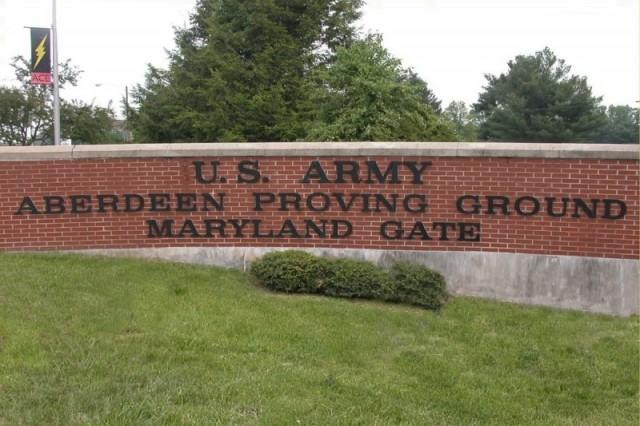 Aberdeen Proving Ground, Maryland