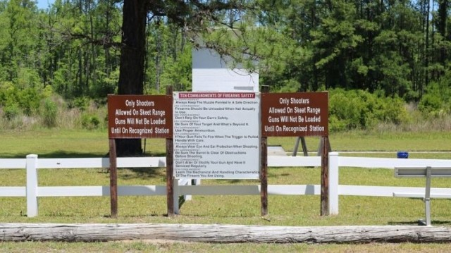 Skeet and Trap Range - Fort Stewart