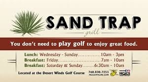 Sand Trap Grill-29 Palms Marine Base