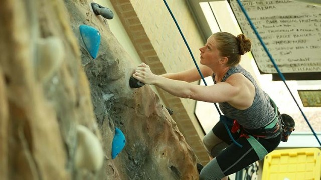 Ivy Fitness Center Climbing Wall - Fort Carson