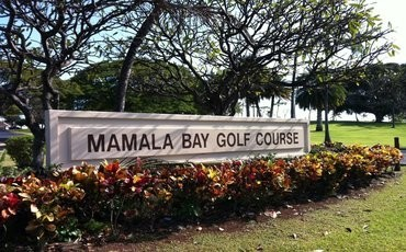 Mamala Bay Golf Course