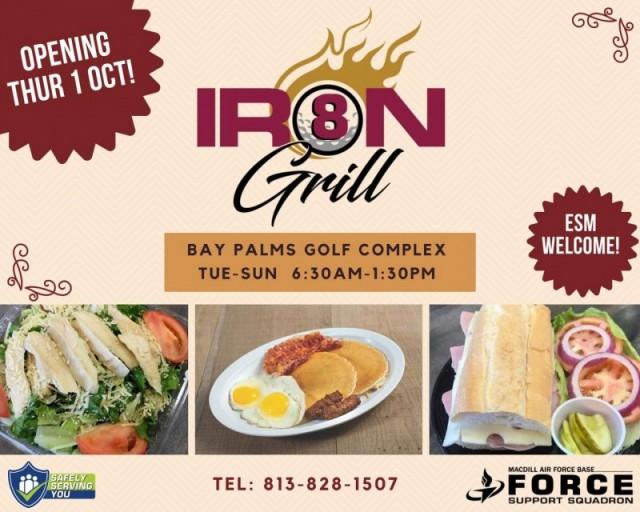 8-Iron Grill - MacDill AFB