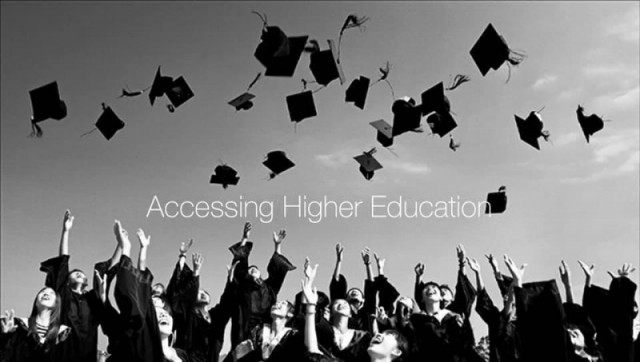 ACCESSING HIGHER EDUCATION WORKSHOP